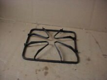 Hotpoint Range Burner Grate w  Some Wear Staining Part   WB32X87