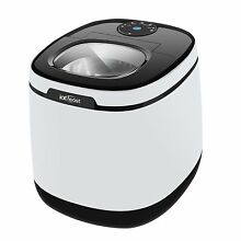 ICEFEAST Ice Maker Portable Small Appliance Compact White Electric Machine
