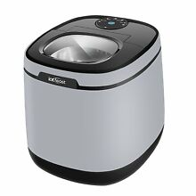 ICEFEAST Ice Maker Portable Small Appliance Compact Gray Electric Machine