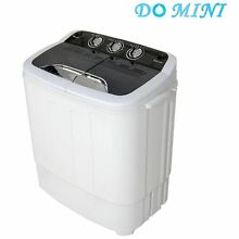 Do mini Portable Compact Twin Tub 12 3Ibs Capacity Washing Machine and Spin D