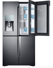 NEW Samsung RF28K9380SG AA 28 cu  ft  4Door Flex French Door Refrigerator Blk SS