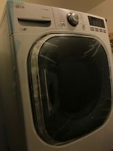 LG WHITE Front Load Steam Washer WM4270HWA   LG Front Load Gas Dryer DLGX4271W