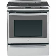 GE PHS920SFSS 5 3 cu ft Self Cleaning Induction Convection Electric Range Oven