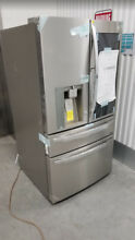 New LG LMXS30776S Instaview Stainless Steel French Door Refrigerator Vandalized