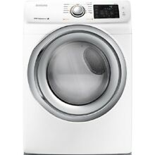 Samsung DV42H5200EW 7 5CF 11 Cycle Electric Dryer with Steam White