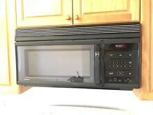 GE Spacemaker Microwave   Over The Range   Black