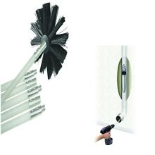 Dryer Duct Cleaning Kit Deflecto12  Clear Cleaner Remover Vent Lint Brush