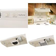 Non Vented Under Cabinet Range Hood Kitchen Stove Cooking Exhaust Fan Bisque