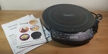 Nuwave Pro Induction 12  Cooktop Model 30301 PIC with Cook Book