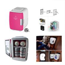Mini Compact Refrigerators Fridge Electric Cooler And Warmer  4 Liter   6 Can