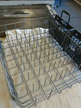 WDT730PAHZ WHIRLPOOL DISHWASHER LOWER RACK WITH WHEELS PART W10311986   baskets