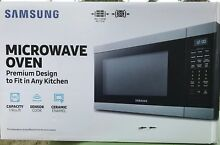 Samsung Microwave 1 9 cu  ft  Countertop Ceramic Enamel Interior   New in Box