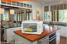 White Stainless Steel Cake Pizza Oven Full Circle Spit Electric Ovens Househ