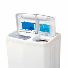 Small Washer Dryer Combo Compact Portable 2 In 1 Machine RV Apartment Top Load