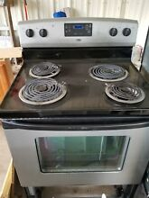Estate  Whirlpool  electric stove good working order    Local pick up only