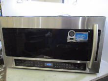 SAMSUNG ME21H706MQS 1000W 2 1 CU FT OVER RANGE MICROWAVE STAINLESS STEEL T9 B17