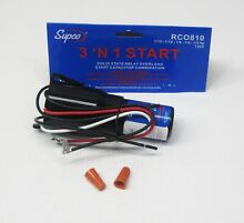 Supco RCO810 Refrigerator Relay Capacitor Overload RC0810 3 in 1 up to 1 5HP
