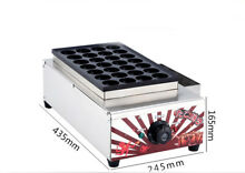 Takoyaki Grill Octopus Ball Small Waffle Kitchen Home Appliance 435MM 245MM