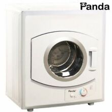 Portable Compact Cloths Dryer 110v Stainless Steel Drum 8 8lbs Capacity 2 65cuft