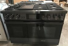 Dacor Modernist 48  Graphite Stainless Steel Dual Fuel Steam Range DOP48M96D LM