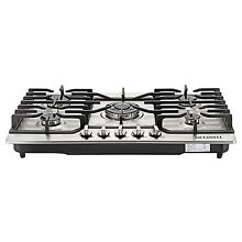 US 30  Stainless Steel 5 Burners Built in Cooktop Stove LPG NG Gas Hob Cooker