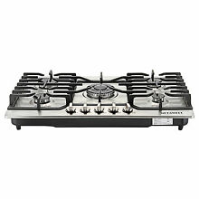 Brand METAWELL 30  Stainless Steel 5 Burners Built in Cooktop Stove LPG NG Gas