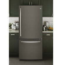 Brushed Slate Stainless Steel Refrigerator Skin Cover Panels Vinyl Film Wraps
