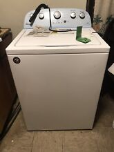 Whirlpool WTW4816FW 28 Inch Top Load Washer 12 cycle