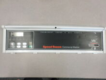 210069 Speed Queen Commercial Washer Control Panel   Overlay