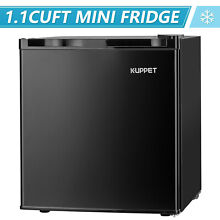 New 3 2 cu ft  Mini Refrigerator Fridge Compact Refrigerator Dorm Office Black