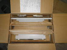 New Frigidaire Stainless Steel Microwave Trim Kit  82 0308 12
