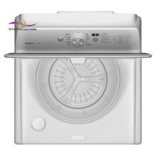 5 3 cu ft High Efficiency White Top Load Washing Machine with Deep Clean Option