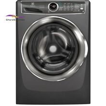 Front Load Washer Smart Boost Technology Steam in Titanium ENERGY STAR