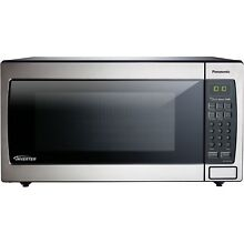 Panasonic Stainless Steel 1 6 Cu Microwave with Inverter NN SN766SS