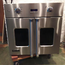 Viking Professional 7 Series VSOF730ss 30  Single French Door Wall Oven