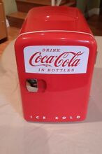 Coca Cola Retro Personal Fridge Thermoelectric Cooler   Warmer  KWC 4