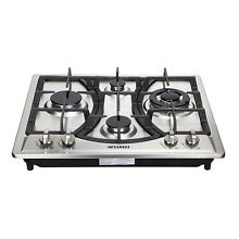 23inch Built in 4 Burners Gas Cooktop Stainless Steel NG LPG Gas Hob Cooker