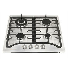 7  off Brand New  23  Stainless Steel Cooktop Built In Stove LPG NG Gas Hob
