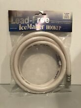 THE LEAD FREE ICEMAKER HOOKUP 49599 5  Water Hose for Ice Maker and Dispenser