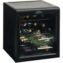 Danby 1 8 Cu Ft  17 Bottle Counter Top Wine Cooler   Black