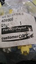 420966 Fisher   Paykel Washer Water Inlet Valve  NEW