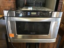 Sharp  Built in Microwave Drawer Oven Never Used  New Old Stock