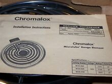 Chromalox Part MC80 R9R COMPLETE SURFACE MICROTUBE RANGE ELEMENT NEW 1977