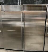 72  SUB ZERO BI36F   BI36R STAINLESS STEEL 36  SUBZERO FREEZER FRIDGE