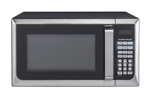 Hamilton Beach 0 9 cu ft  Microwave Oven  Stainless Steel   NEW BRAND