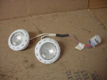 GE Monogram Refrigerator Light Assembly w  Halogen Bulbs Part   WR02X11202