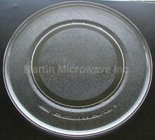GE Microwave Glass Plate  Tray 15 1 2    WB49X690