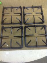 VINTAGE STOVE PARTS  Modern Maid Amana Gas Range Cooktop Burner Set Of 4