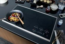 Wolf CT36I S 36  Induction Cooktop With Stainless Trim