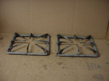Amana Range Burner Grate Very Stained Lot of 2 Part   317191025Y